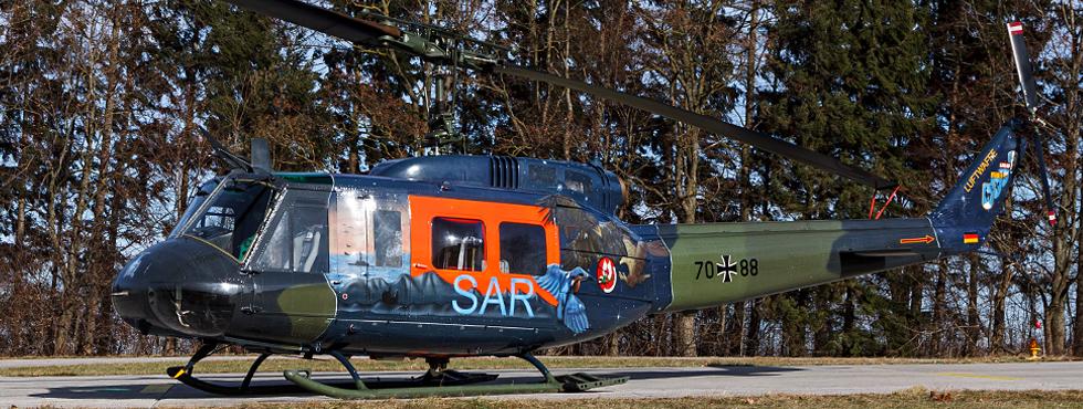 Übergabe des militärischen SAR-Dienstes von der Luftwaffe an das Heer