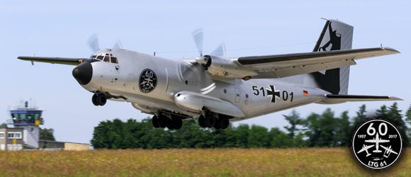 Fly-In Tag der Bundeswehr 2017 LTG 61 Penzing