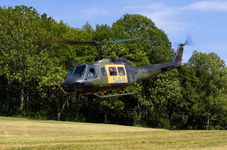 BW UH-1D & Malteser Hundestaffel