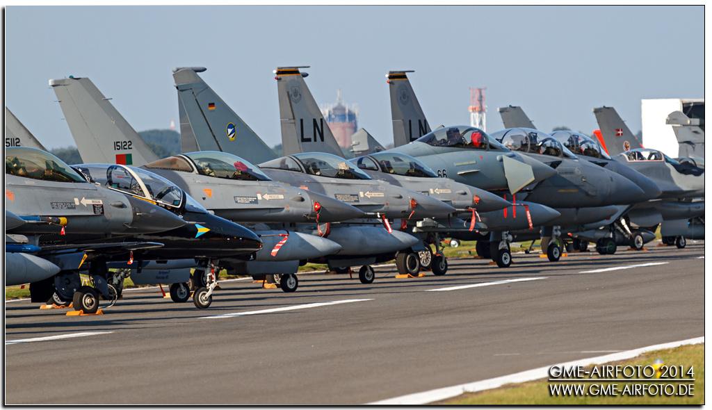 Belgian Air Force Days 2014 Kleine Brogel