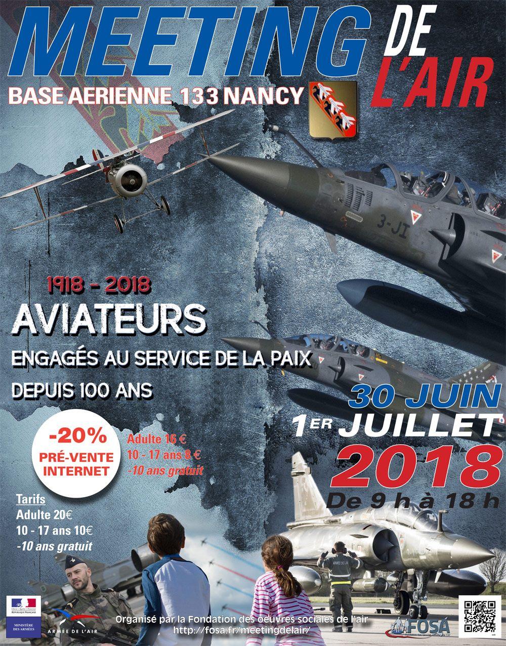 Meeting de l'Air Base Aerienne 133 Nancy - Ochey 2018