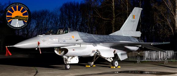 Belgian Air Force Sunset Photoshoot