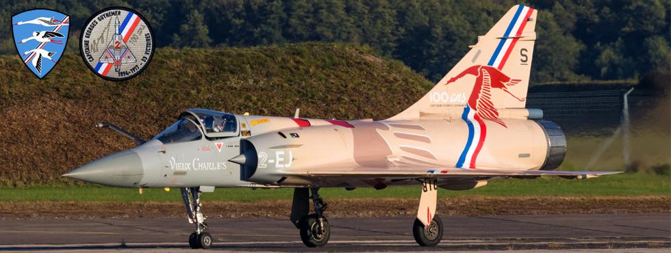 Groupe de Chasse 1/2 'Cigognes' - Base Aérienne 116 Luxeuil